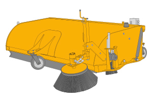 JCB Sweeper collector Bangalore